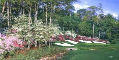 The Golf & Landscape Art of Larry Dyke